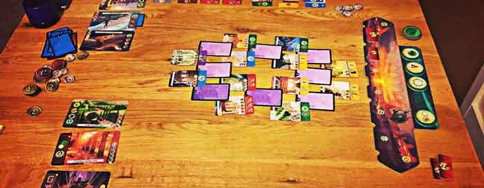 7 Wonders duel tavolo
