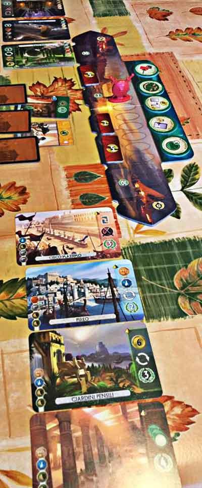 7 wonders duel gioco societa