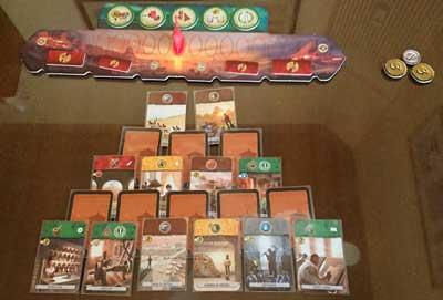 7 wonders duel gioco