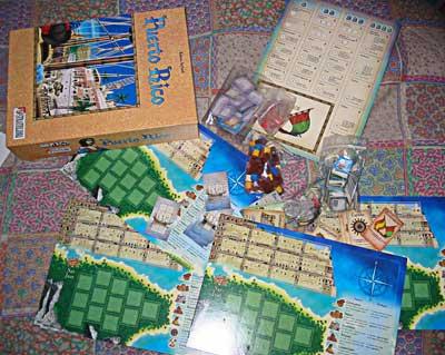 Puerto rico gioco scatola
