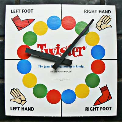 Twister tabellone