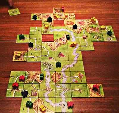 carcassonne gioco tavolo