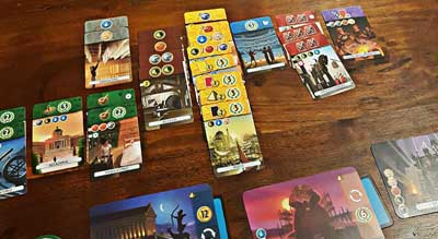 gioco carte 7 wonders duel