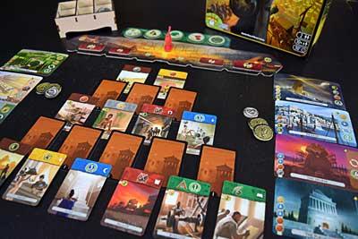 gioco scatola 7 wonders duel