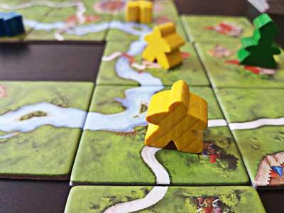 gioco scatola carcassonne