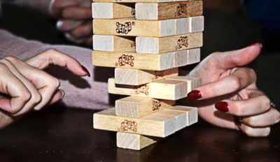 gioco scatola jenga