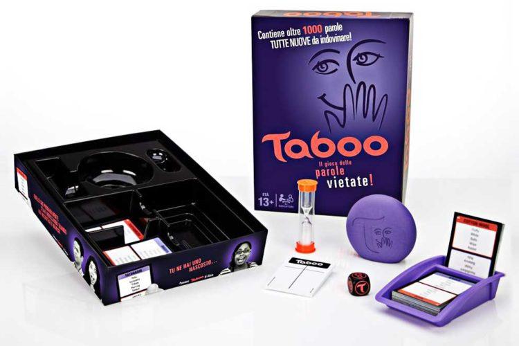 gioco scatola taboo