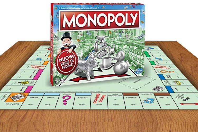 gioco tavola monopoly