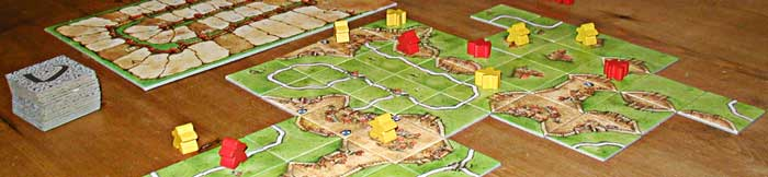 gioco tavolo carcassonne