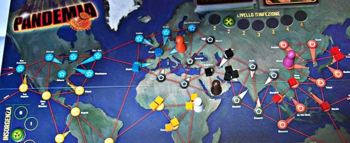 gioco tavolo pandemia