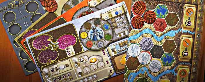 gioco tavolo terra mystica