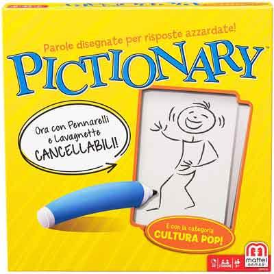 miglior gioco tavolo gruppo pictionary