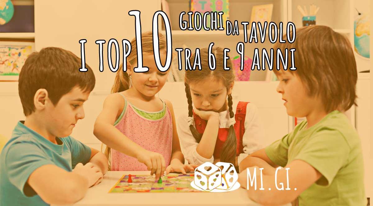 Migliori giochi in scatola per bambini tra i 6 e i 9 anni (in top 10)