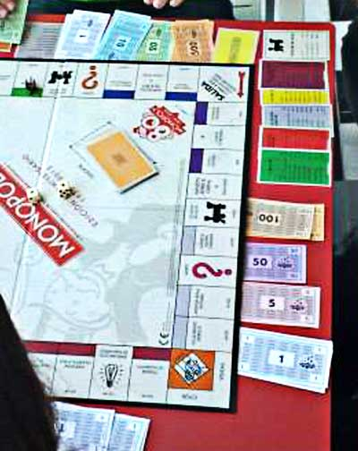 monopoly gioco scatola