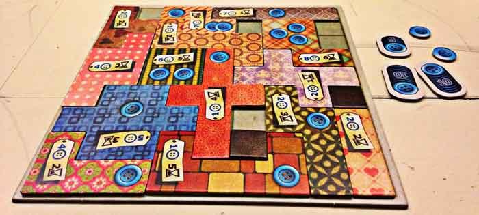 patchwork gioco tavolo