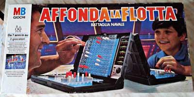 affonda la flotta gioco tavolo-classico