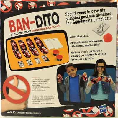 ban-dito gioco società