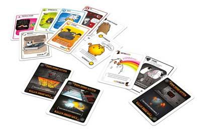 exploding kittens gioco carte