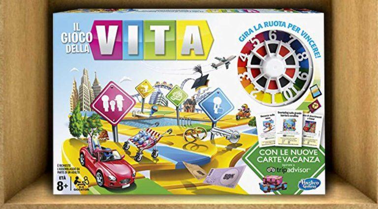 Il gioco della vita, un gioco di percorso ideale per i bambini