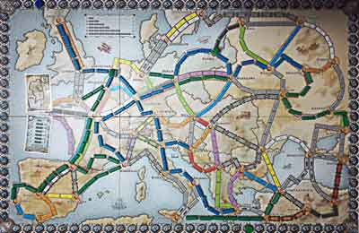 gioco tavolo ticket to ride europa