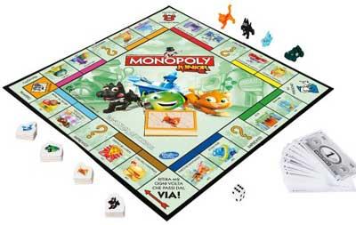 monopoly junior gioco da tavolo