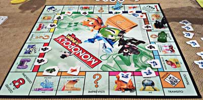 monopoly junior gioco tavolo