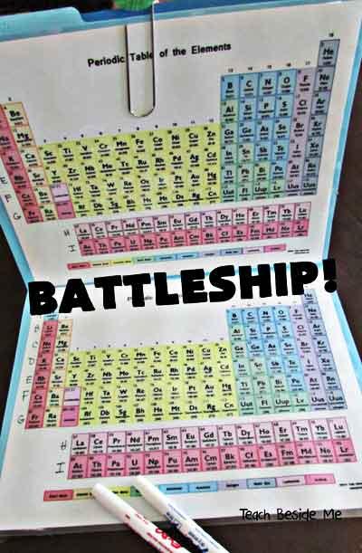 tavola periodica battaglia navale