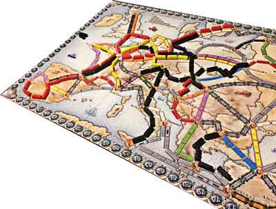 ticke to ride europa gioco da tavola