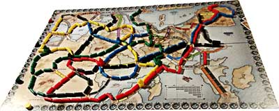 ticket to ride gioco scatola