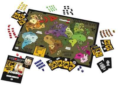 Risiko Zombie gioco tavola