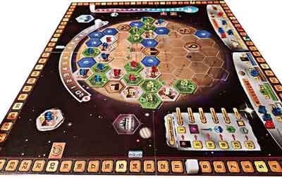 gioco scatola terraforming mars