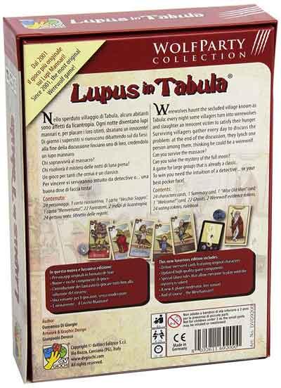 lupus in tabula gioco gruppo