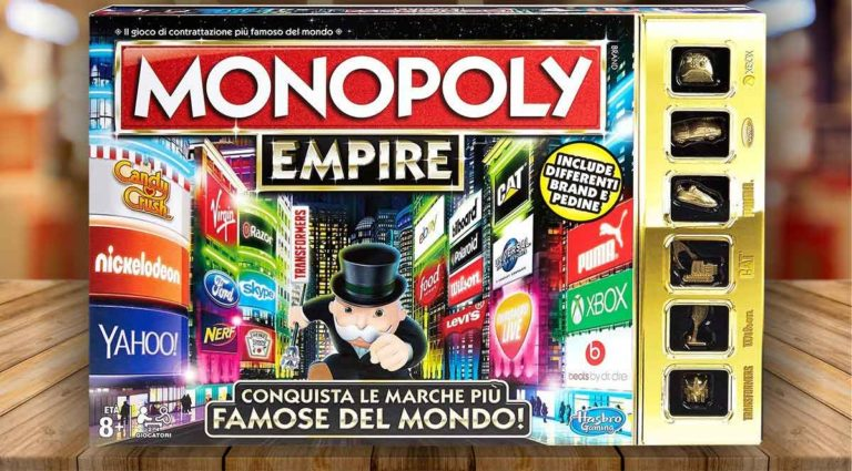 Monopoly Empire: la variante di Monopoly dove conquistare le marche famose