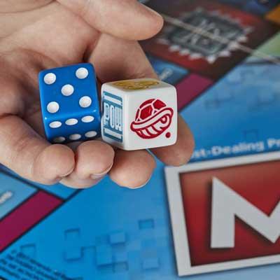 monopoly gamer gioco dadi