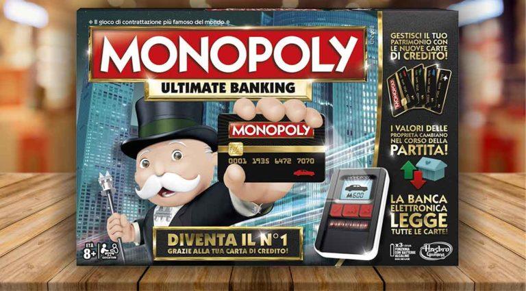 Monopoly Ultimate Banking: la variante di Monopoly con la carta di credito