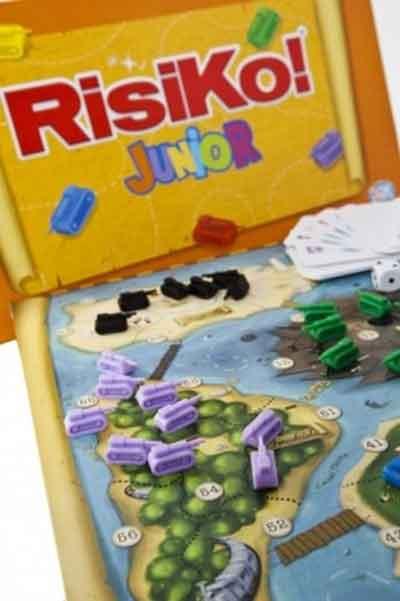 risiko junior gioco scatola