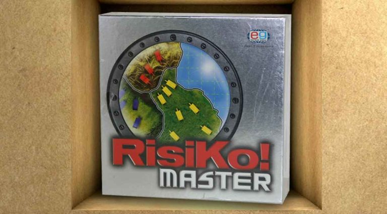 RisiKo! Master: la variante con plance scomponibili di RisiKo!