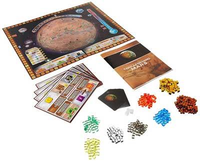 terraforming mars contenuto scatola
