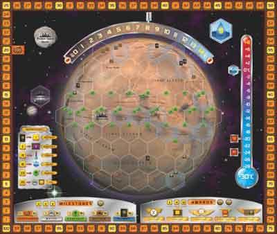 terraforming mars tabellone gioco