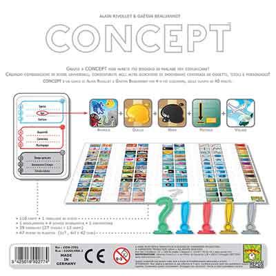concept gioco in scatola