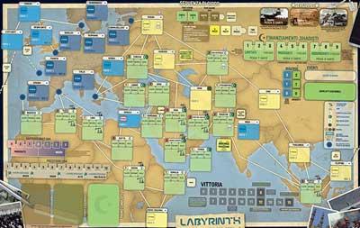 labyrinth guerra al terrore gioco tavolo