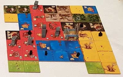 queendomino gioco scatola