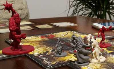Descent gioco tavola
