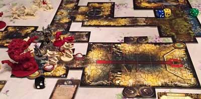 descent gioco scatola