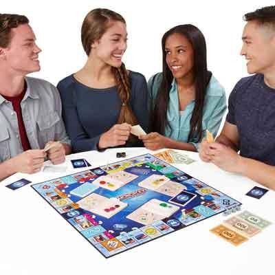 gioco tavolo monopoly giro del mondo