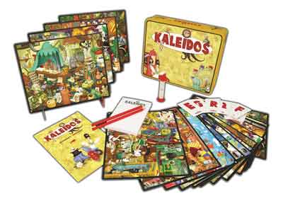 kaleidos gioco tavolo