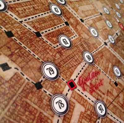 lettere da withechapel gioco scatola
