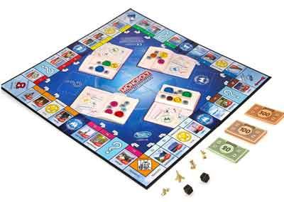 monopoly giro del mondo gioco scatola