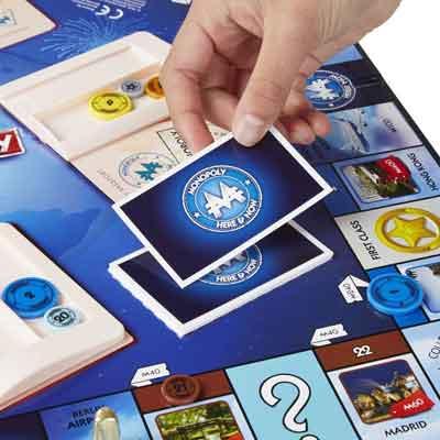 monopoly giro del mondo gioco tavolo