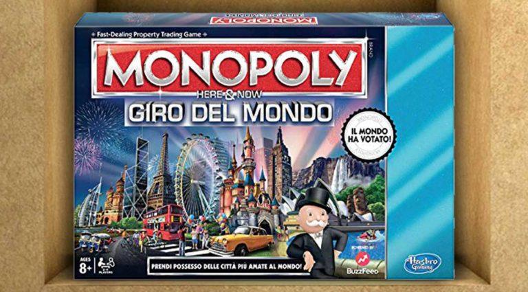Monopoly giro del mondo, la variante di Monopoli dedicata ai traveller